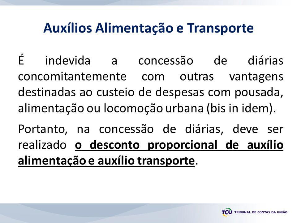 Auxílios Alimentação e Transporte