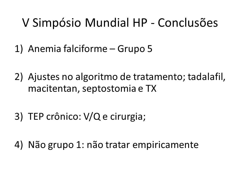 V Simpósio Mundial HP - Conclusões