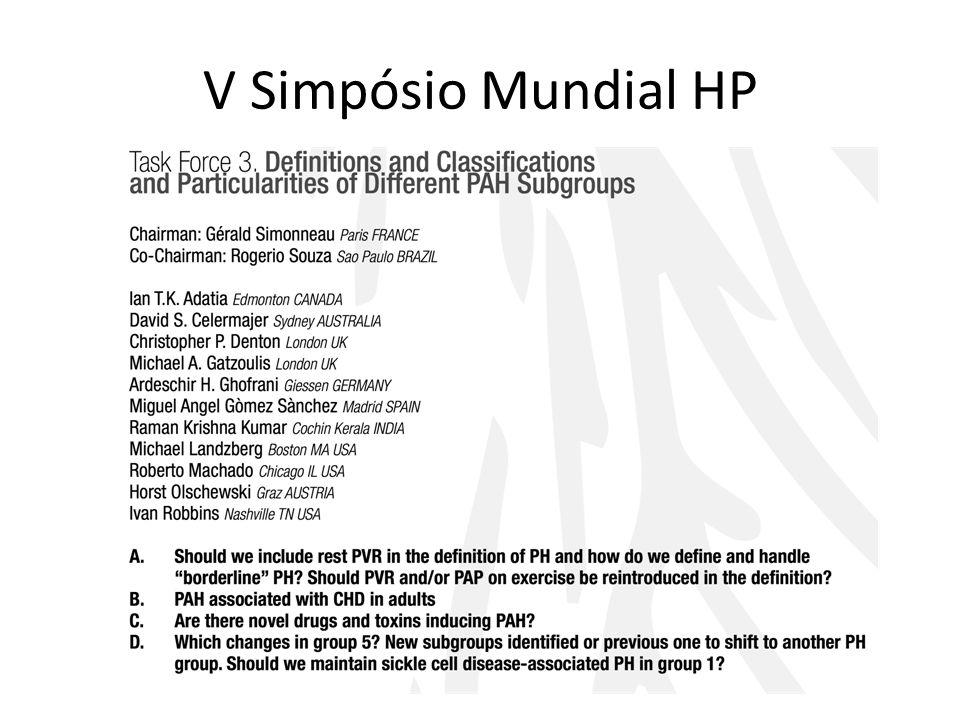 V Simpósio Mundial HP