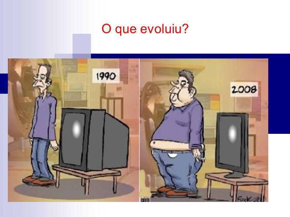 O que evoluiu