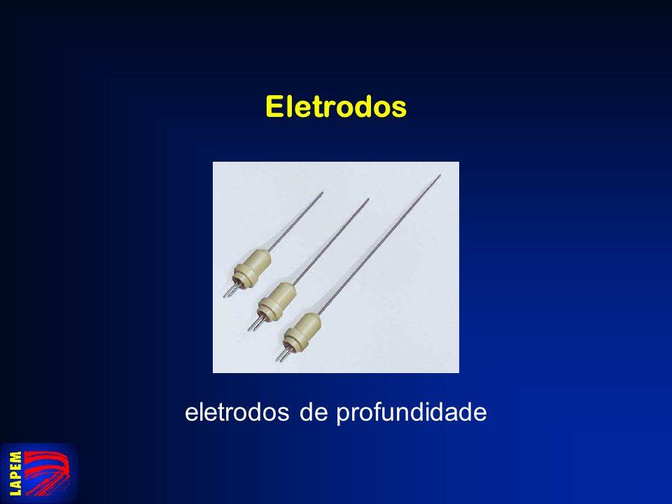 eletrodos de profundidade