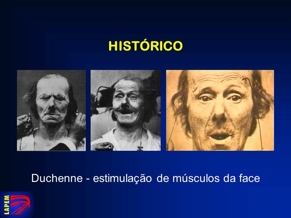 Duchenne - estimulação de músculos da face