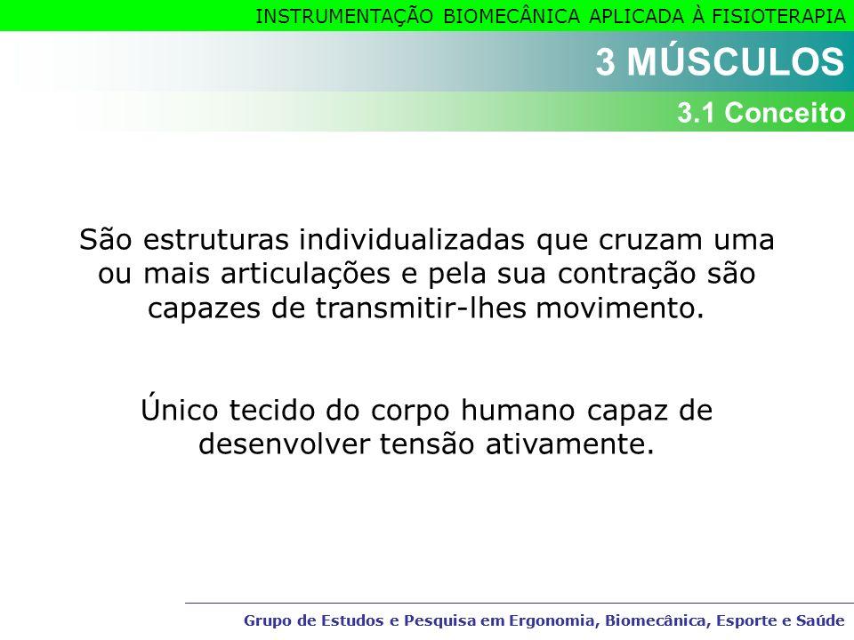 Único tecido do corpo humano capaz de desenvolver tensão ativamente.