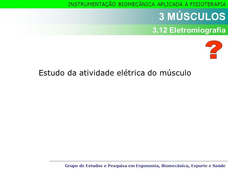 Estudo da atividade elétrica do músculo