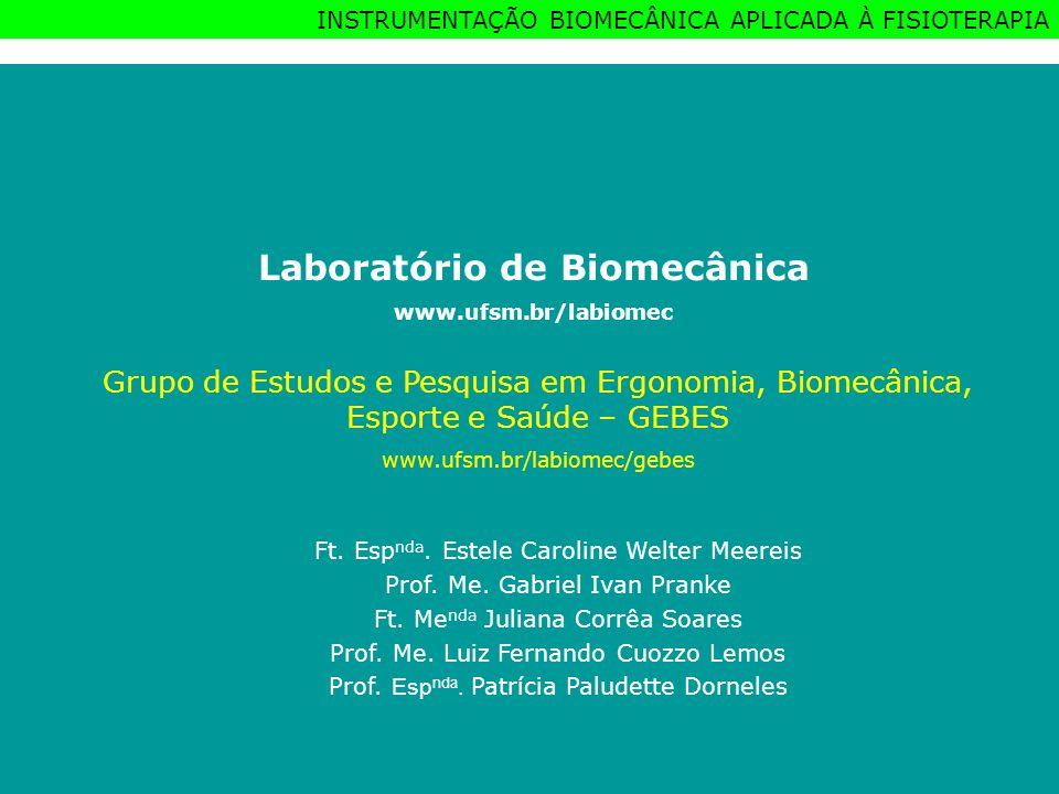 Laboratório de Biomecânica