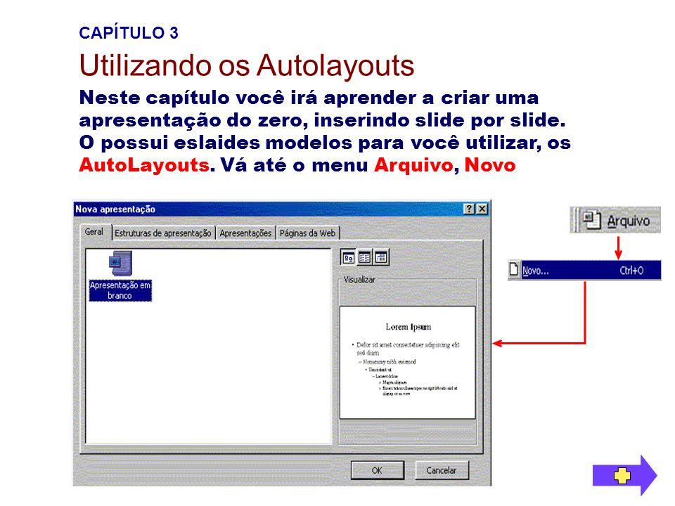Utilizando os Autolayouts