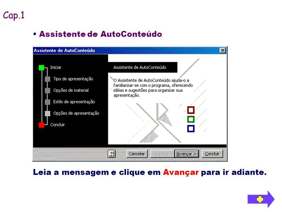 Cap.1 Assistente de AutoConteúdo