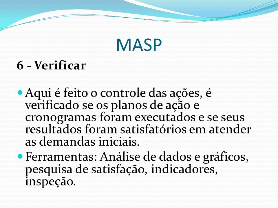 MASP 6 - Verificar.