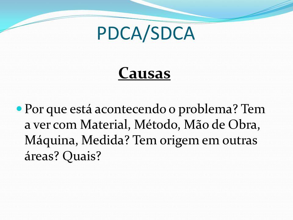 PDCA/SDCA Causas.