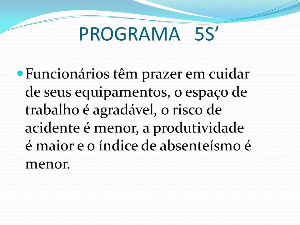 PROGRAMA 5S'
