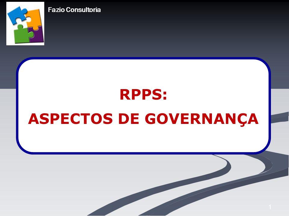 RPPS: ASPECTOS DE GOVERNANÇA
