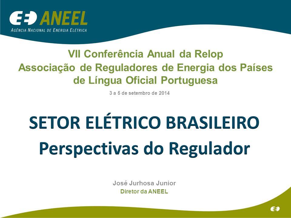 SETOR ELÉTRICO BRASILEIRO Perspectivas do Regulador