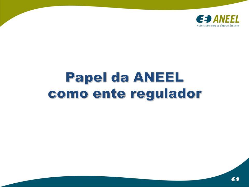 Papel da ANEEL como ente regulador