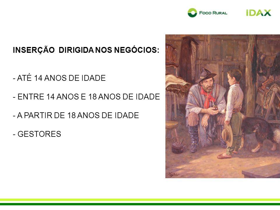 INSERÇÃO DIRIGIDA NOS NEGÓCIOS: