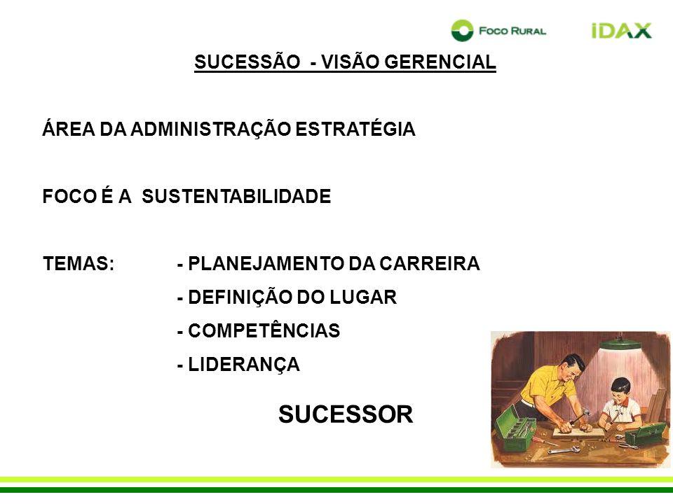 SUCESSÃO - VISÃO GERENCIAL