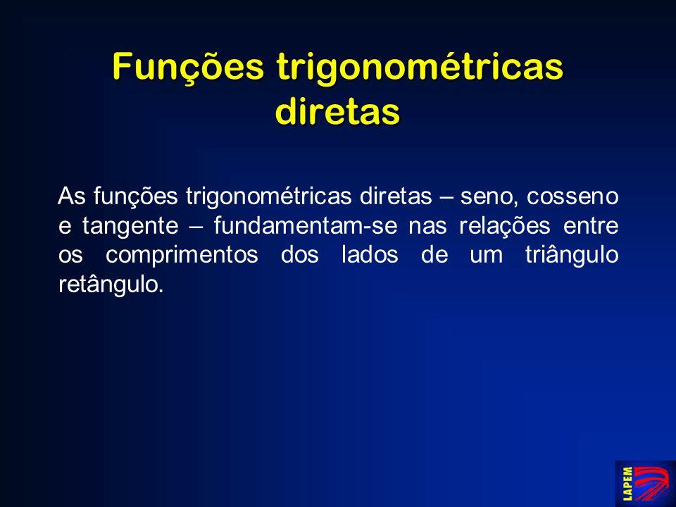 Funções trigonométricas diretas