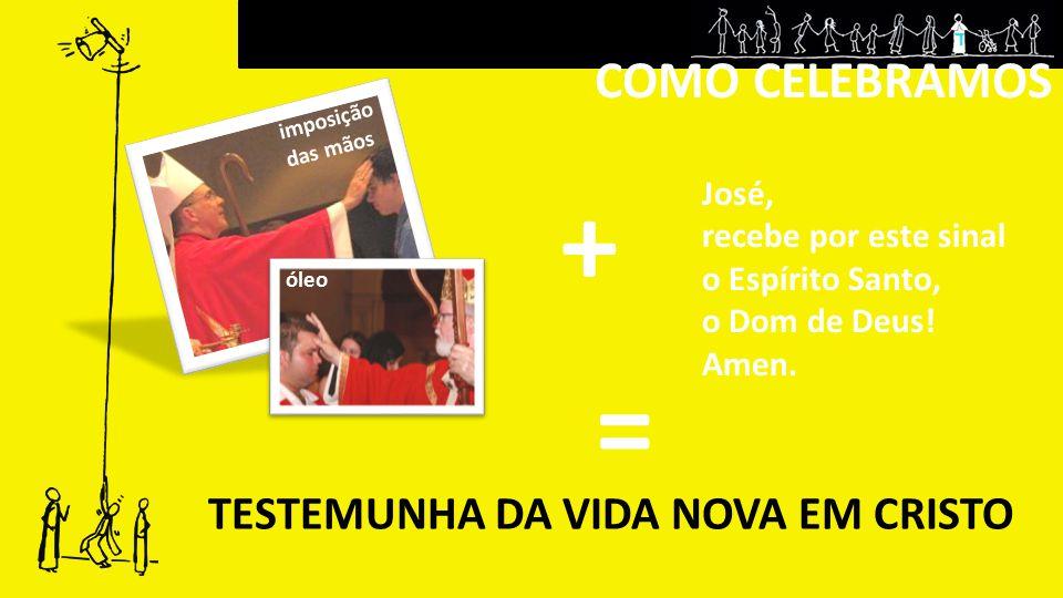 TESTEMUNHA DA VIDA NOVA EM CRISTO