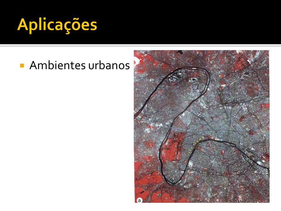 Aplicações Ambientes urbanos