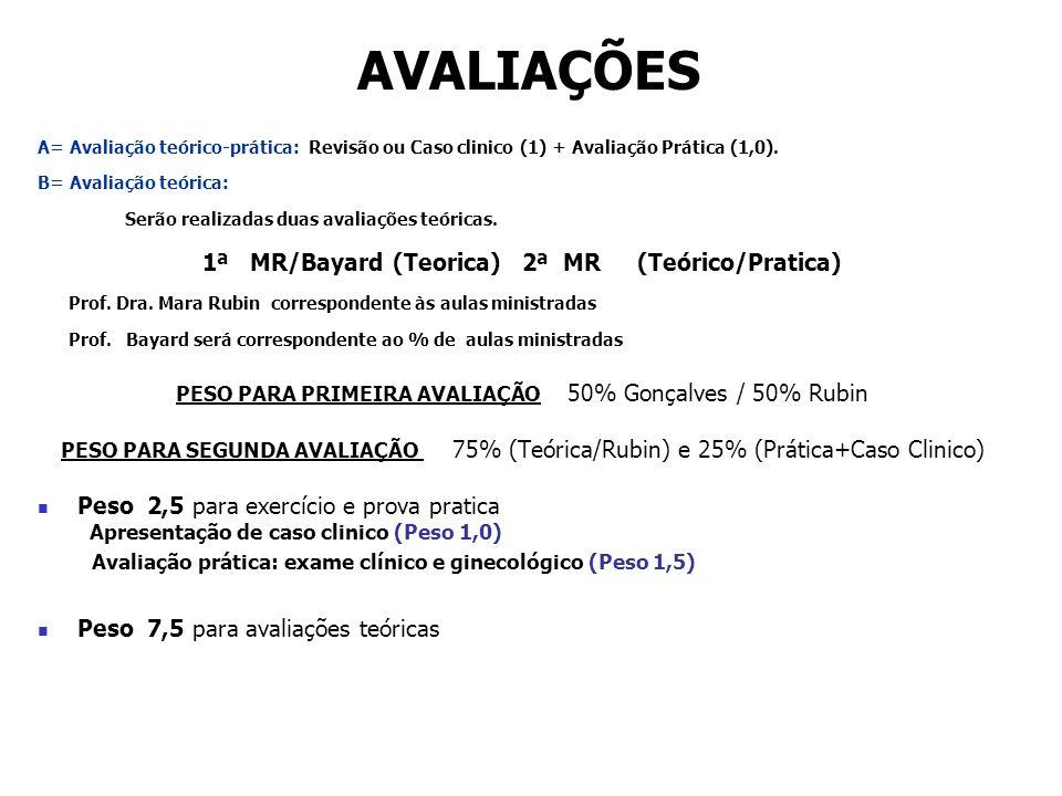 1ª MR/Bayard (Teorica) 2ª MR (Teórico/Pratica)