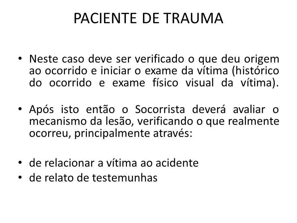 PACIENTE DE TRAUMA