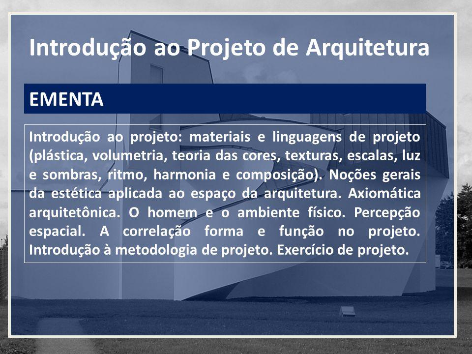 Introdução ao Projeto de Arquitetura