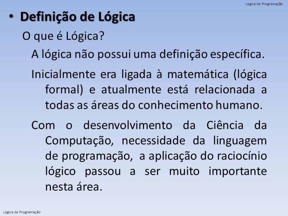 Definição de Lógica O que é Lógica