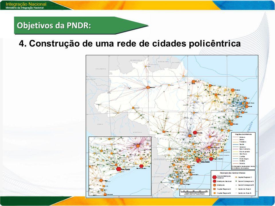 4. Construção de uma rede de cidades policêntrica