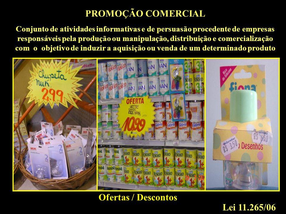 PROMOÇÃO COMERCIAL Lei 11.265/06