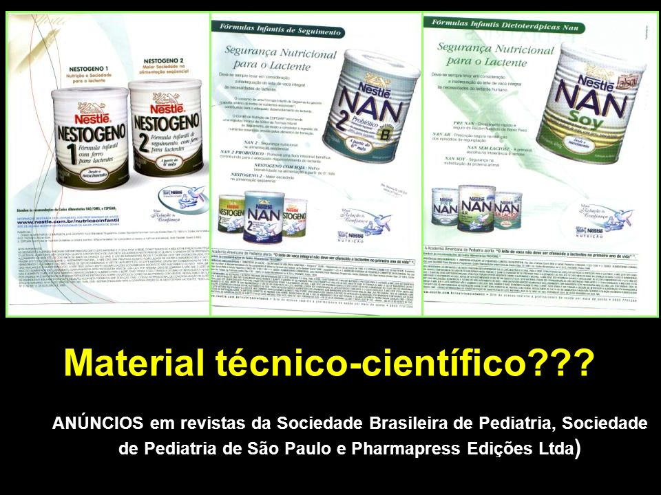 Material técnico-científico