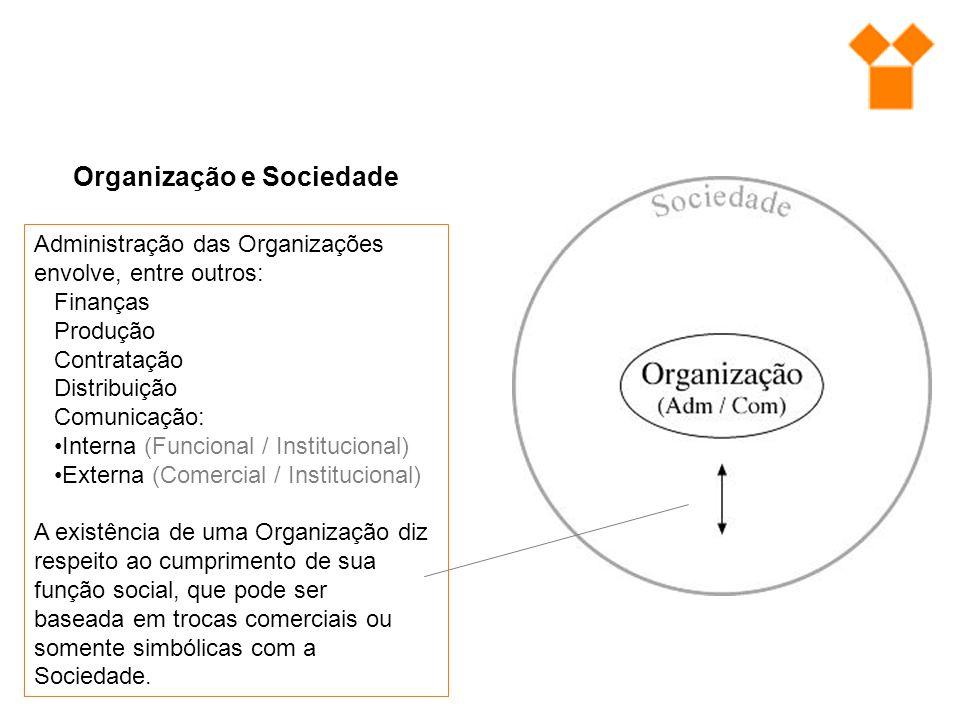 Organização e Sociedade