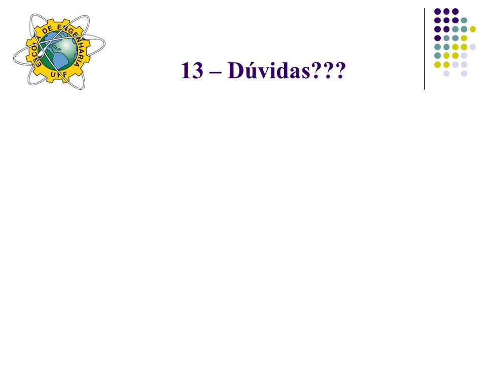 13 – Dúvidas
