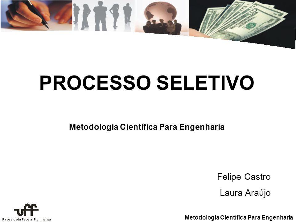 Metodologia Científica Para Engenharia