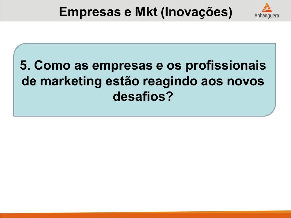 Empresas e Mkt (Inovações)