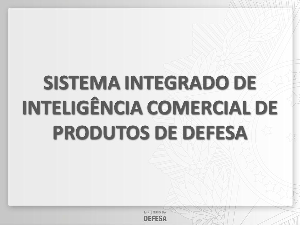 SISTEMA INTEGRADO DE INTELIGÊNCIA COMERCIAL DE PRODUTOS DE DEFESA