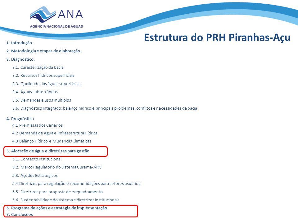 Estrutura do PRH Piranhas-Açu
