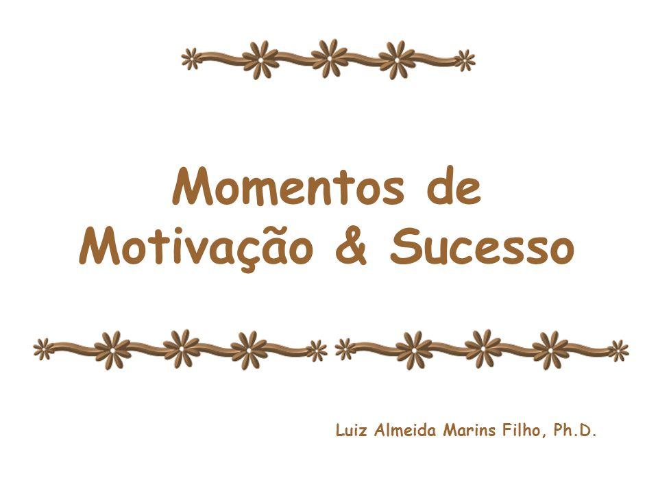 Momentos de Motivação & Sucesso Momentos de Motivação e Sucesso