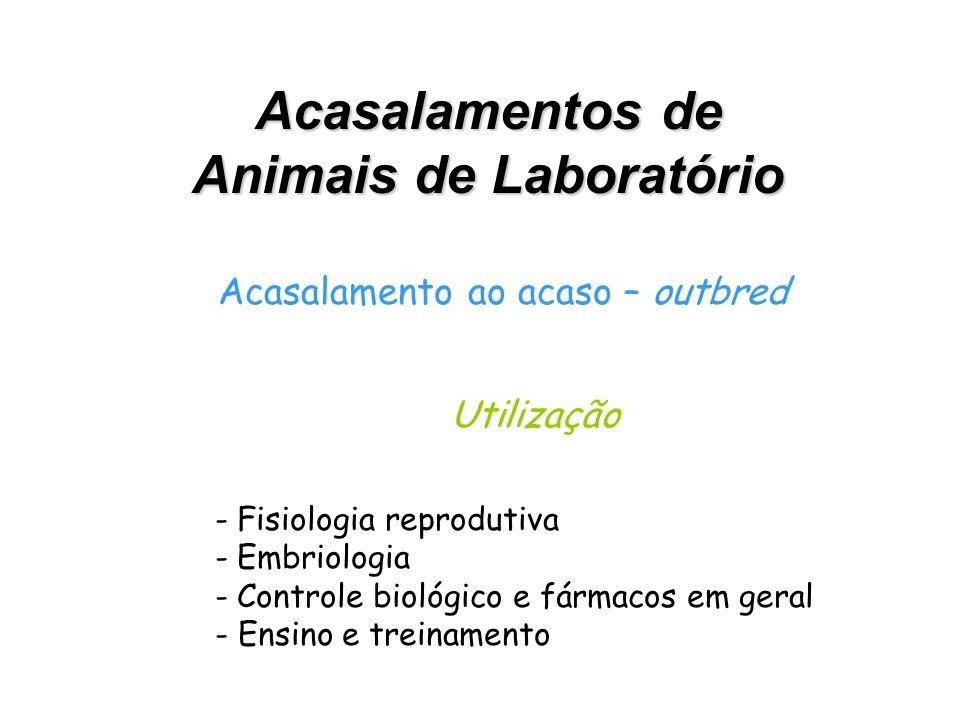 Animais de Laboratório