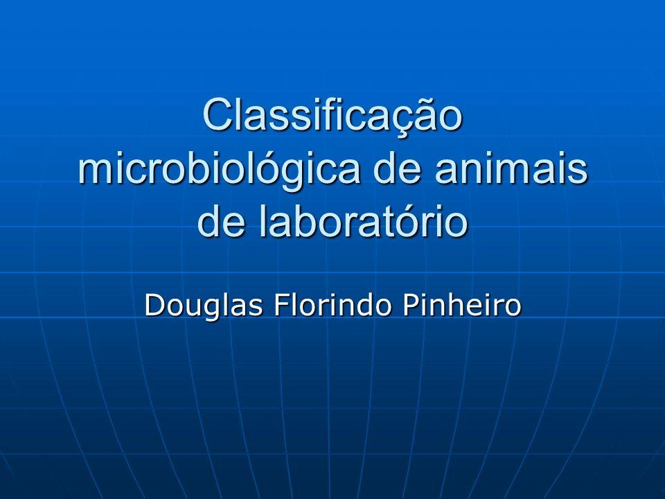 Classificação microbiológica de animais de laboratório
