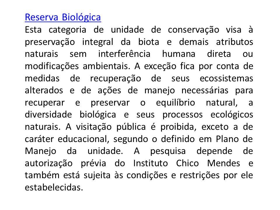 Reserva Biológica