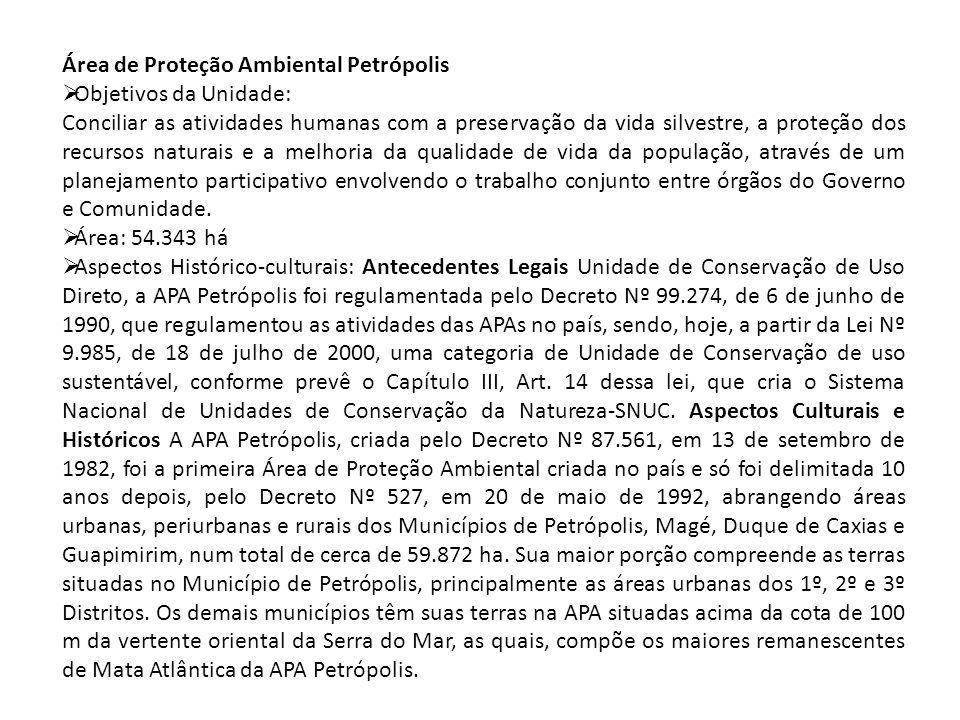 Área de Proteção Ambiental Petrópolis