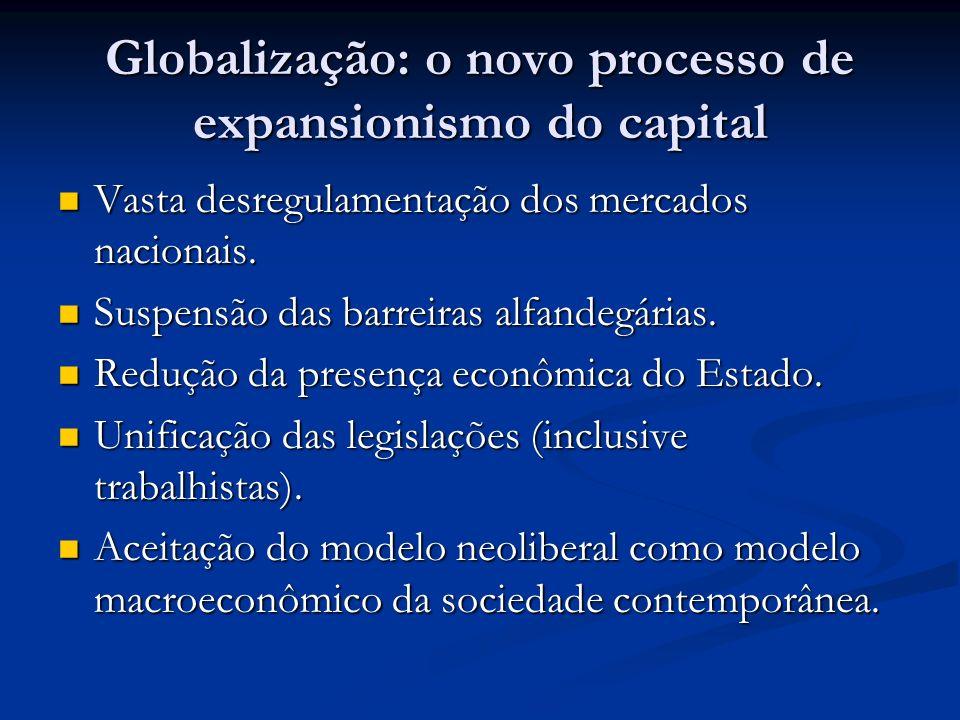 Globalização: o novo processo de expansionismo do capital