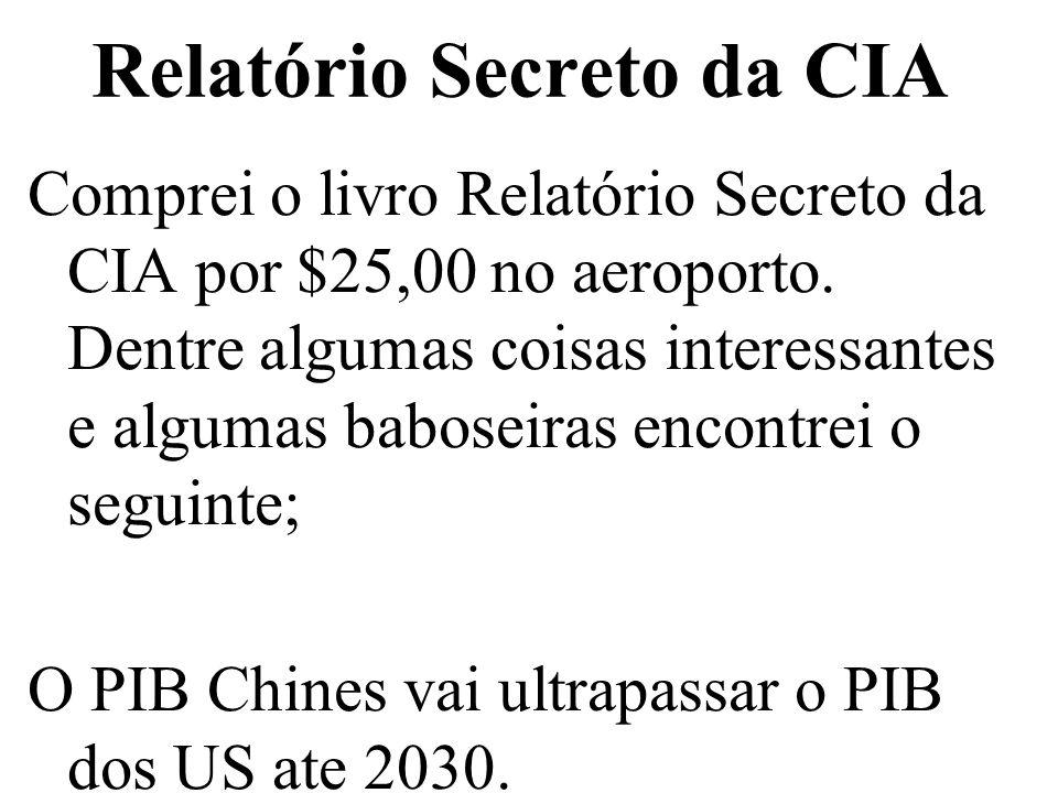 Relatório Secreto da CIA