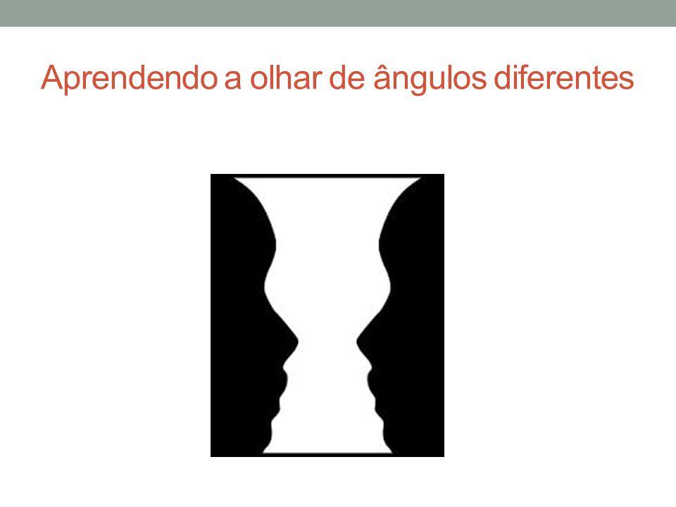 Aprendendo a olhar de ângulos diferentes