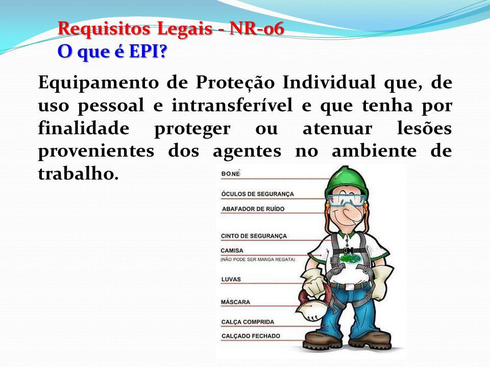 Requisitos Legais - NR-06
