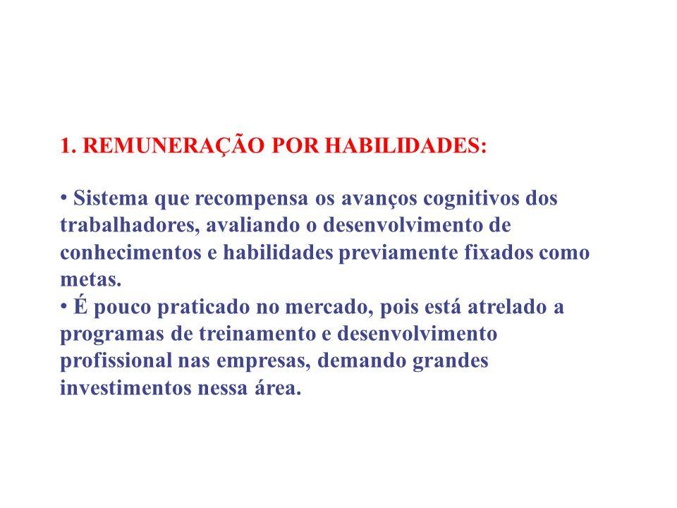 1. REMUNERAÇÃO POR HABILIDADES: