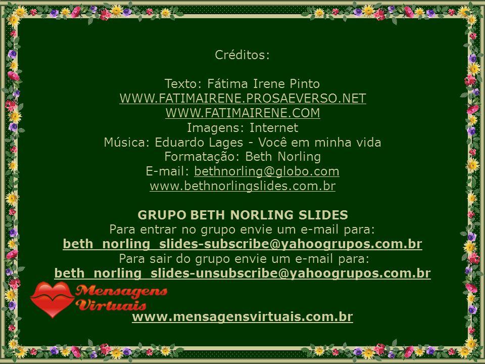 GRUPO BETH NORLING SLIDES
