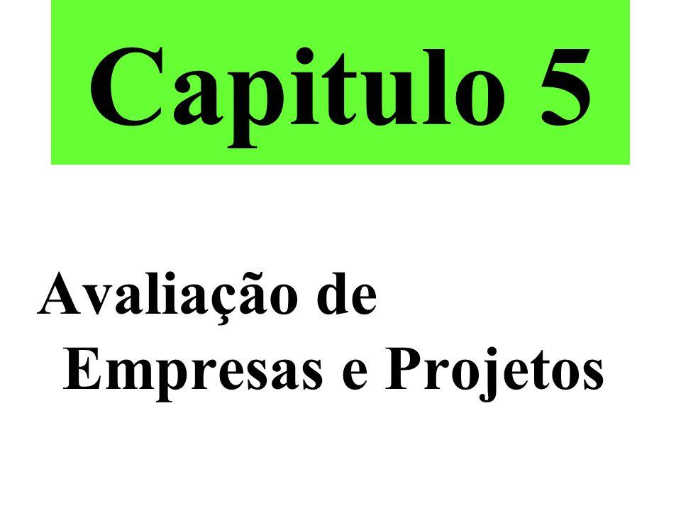 Capitulo 5 Avaliação de Empresas e Projetos