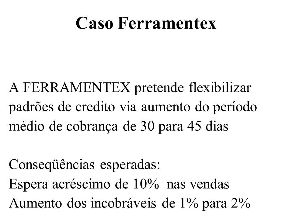 Caso Ferramentex A FERRAMENTEX pretende flexibilizar