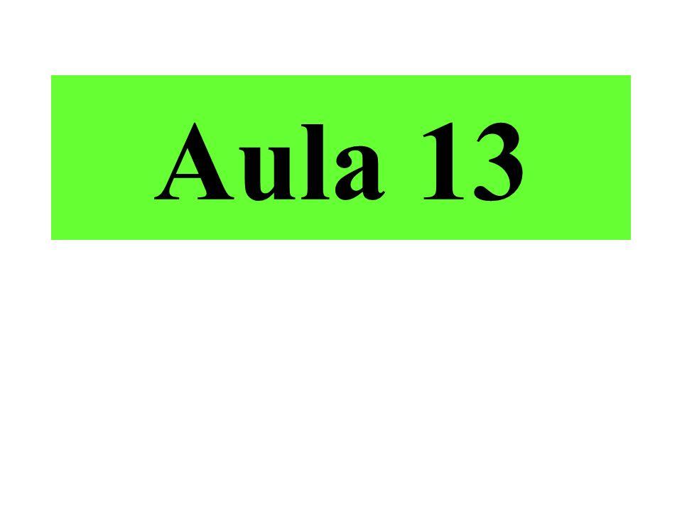 Aula 13