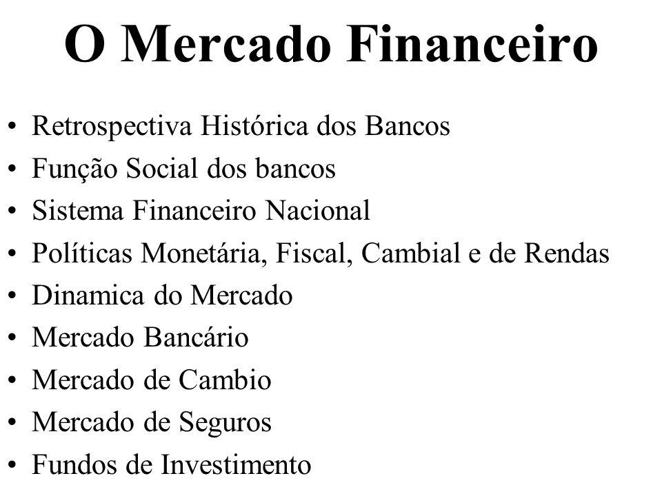 O Mercado Financeiro Retrospectiva Histórica dos Bancos